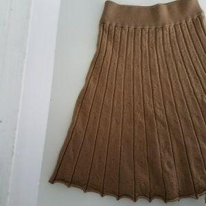 J Crew Scalloped Merino Wool Skirt